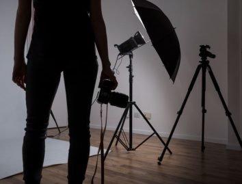 thuis fotostudio